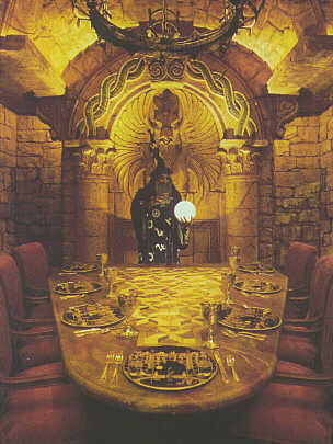 Your Sorcerer Host Presides over the Feast